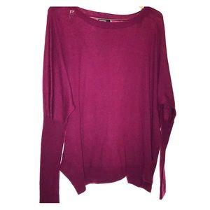 Berry Nordstrom Valette Scoop Hem Sweater | Large
